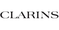Clarins Logo White